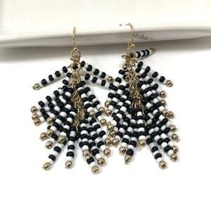 4/$25 • BaubleBar Beaded Tassel Earrings NWOT